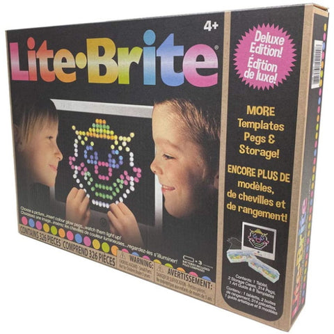 Lite Brite Magic Screen Deluxe Edition [Toys, Ages 3+]