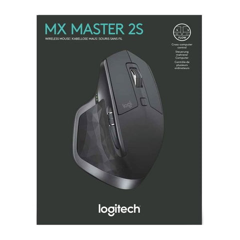 Logitech MX Master 2S Wireless Mouse - Graphite [PC Accessory]