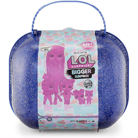 L.O.L. Surprise! Bigger Surprise - Winter Disco Limited Edition [Toys, Ages 3+]
