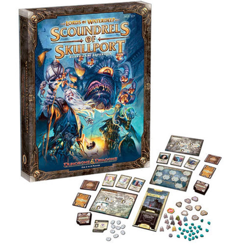 Lords of Waterdeep: Scoundrels of Skullport Expansion [Board Game, 2-6 Players]