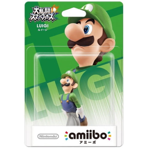 Luigi Amiibo - Super Smash Bros. Series [Nintendo Accessory]