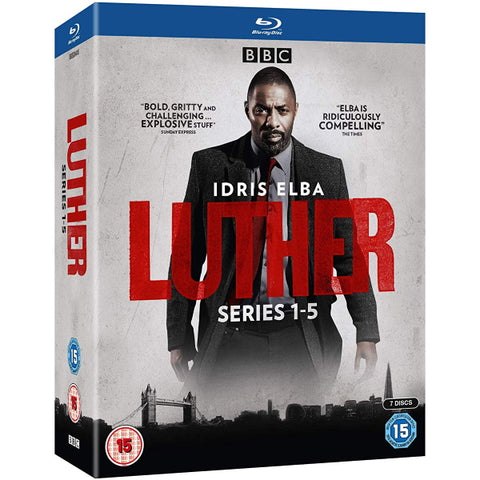 Luther: The Complete Series - Series 1-5 [Blu-Ray Box Set]