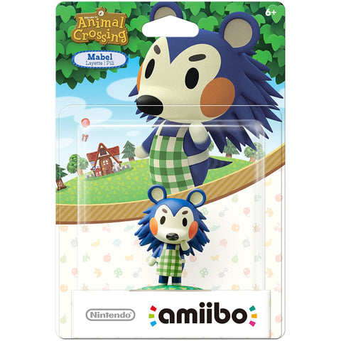 Mabel Amiibo - Animal Crossing Series [Nintendo Accessory]
