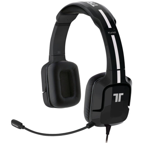 Mad Catz TRITTON Kunai Stereo Headset for PlayStation 4, PlayStation 3, PS Vita, and Mobile Devices - Black [Cross-Platform Accessory]
