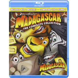 Madagascar: The Complete Collection [Blu-Ray 3-Movie Collection]