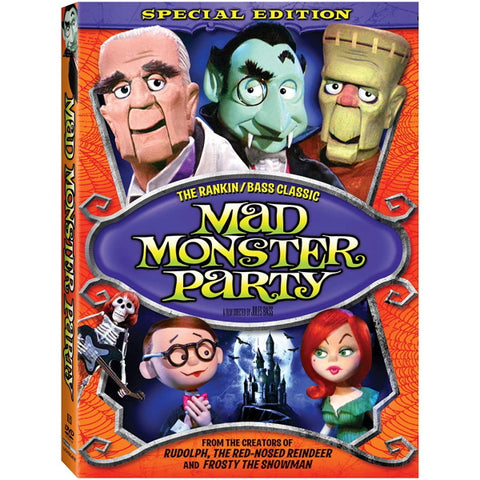 Mad Monster Party: Special Edition [DVD]
