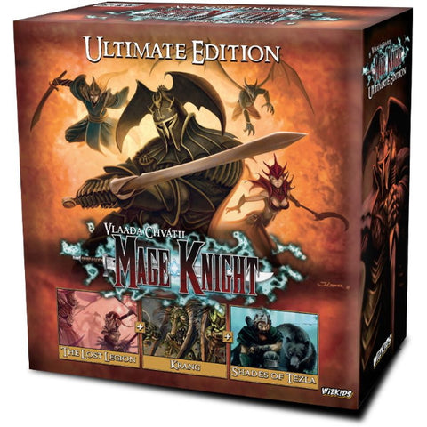 Mage Knight - Ultimate Edition [Board Game, 1-5 Players]