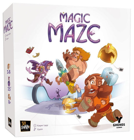 Magic Maze [Board Game, 1-8 Players]