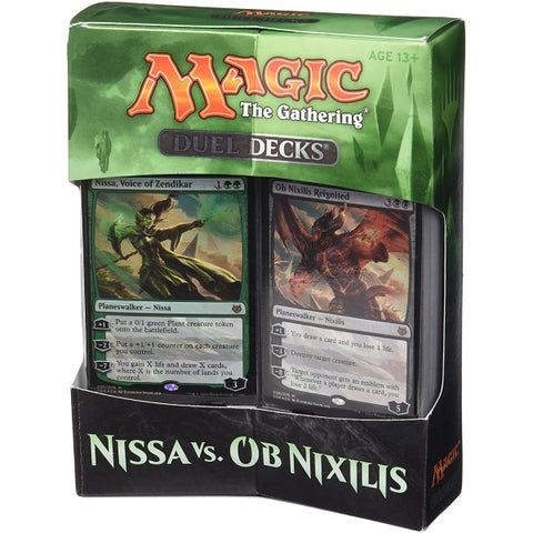 Magic: The Gathering Duel Decks - Nissa vs. Ob Nixilis [Card Game, 2 Players]