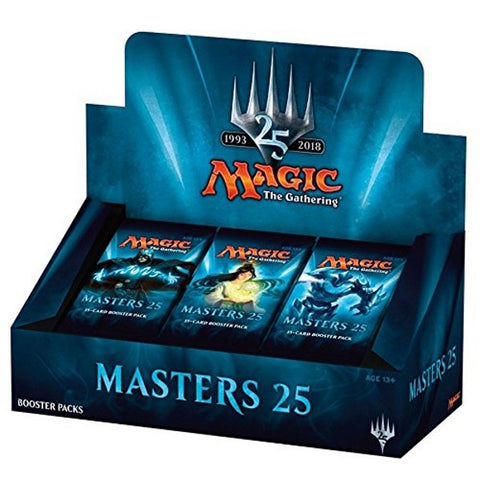 Magic: The Gathering TCG 'Masters 25'  Booster Box - 24 Packs [Card Game, 2 Players]