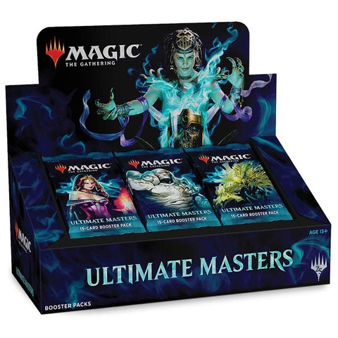 Magic: The Gathering TCG 'Ultimate Masters' Booster Box - 24 Packs [Card Game, 2 Players]