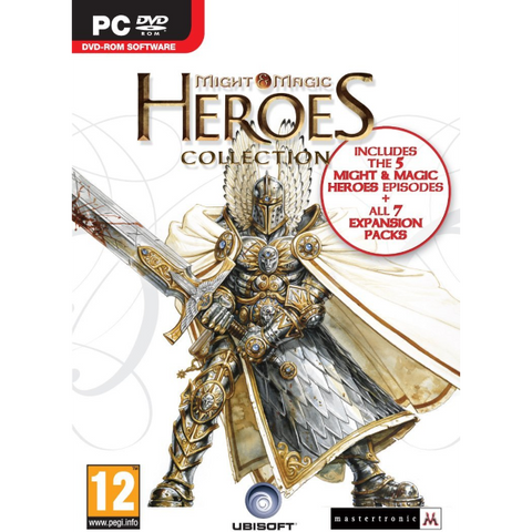 Heroes of Might and Magic Collection 1-5 with 7 Expansions [PC Computer]