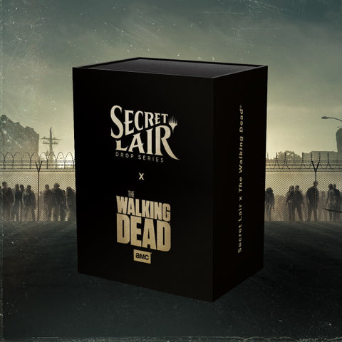 Magic: The Gathering TCG - Secret Lair x The Walking Dead [Card Game, 2 Players]