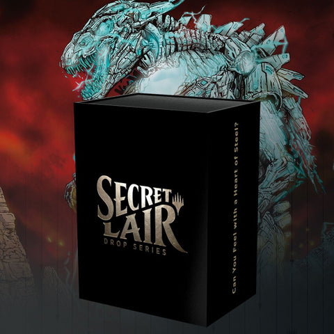 Magic: The Gathering TCG - Secret Lair Drop Series - Can You Feel With A Heart of Steel? [Card Game, 2 Players]