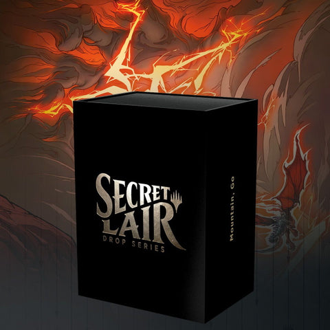 Magic: The Gathering TCG - Secret Lair Drop Series - Mountain, Go [Card Game, 2 Players]
