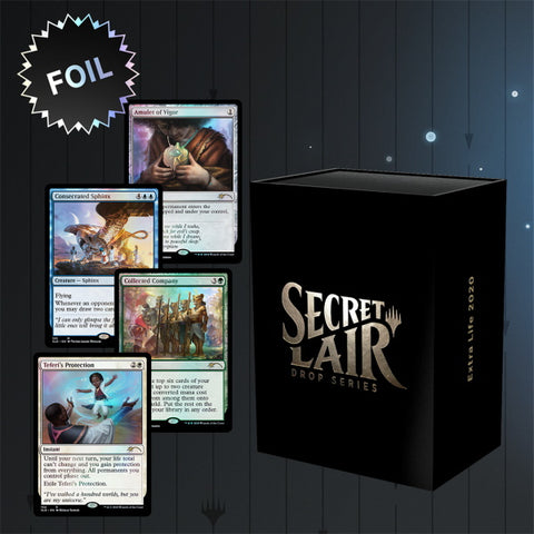 Magic: The Gathering TCG - Secret Lair Drop Series - Extra Life 2020 [Card Game, 2 Players]