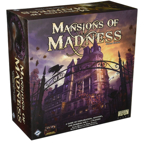 Mansions of Madness: 2nd Edition [Board Game, 1-5 Players]