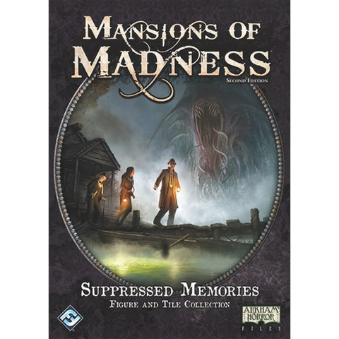 Mansions of Madness 2nd Edition: Suppressed Memories [Figure & Tile Collection, 1-5 Players]