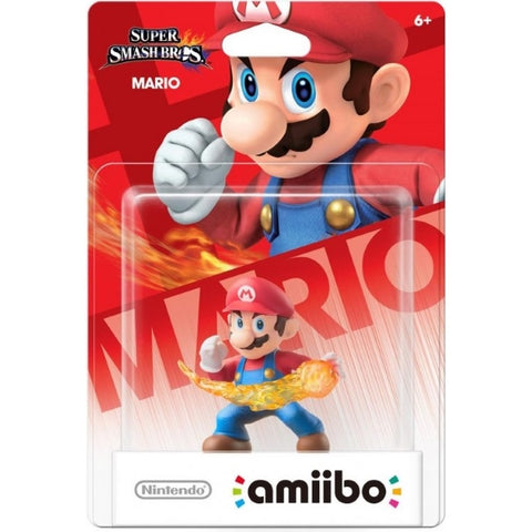 Mario Amiibo - Super Smash Bros. Series [Nintendo Accessory]