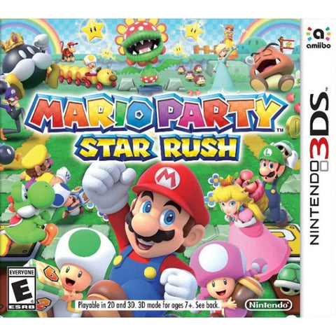 Mario Party: Star Rush [Nintendo 3DS]