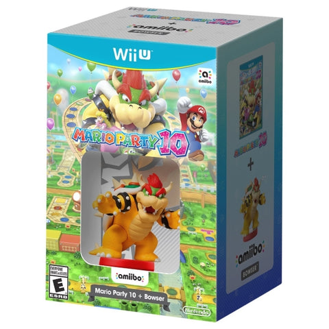 Mario Party 10 + Bowser Amiibo [Nintendo Wii U]