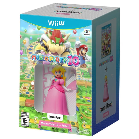 Mario Party 10 + Peach Amiibo [Nintendo Wii U]
