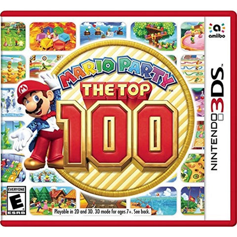 Mario Party: The Top 100 [Nintendo 3DS]