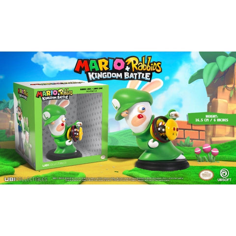 "Mario + Rabbids Kingdom Battle: Rabbid Luigi 6"" Figurine [Toys, Ages 3+]"