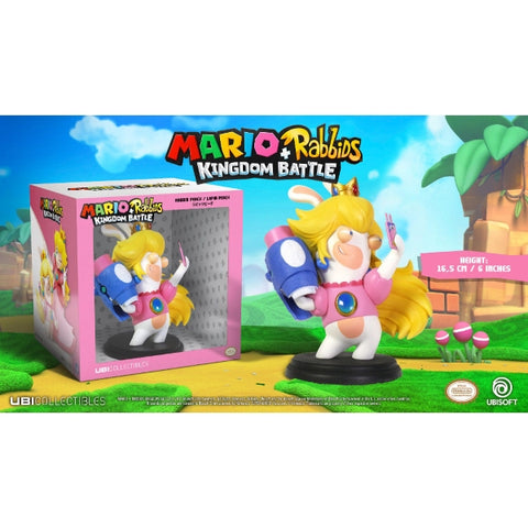 "Mario + Rabbids Kingdom Battle: Rabbid Peach 6"" Figurine [Toys, Ages 3+]"