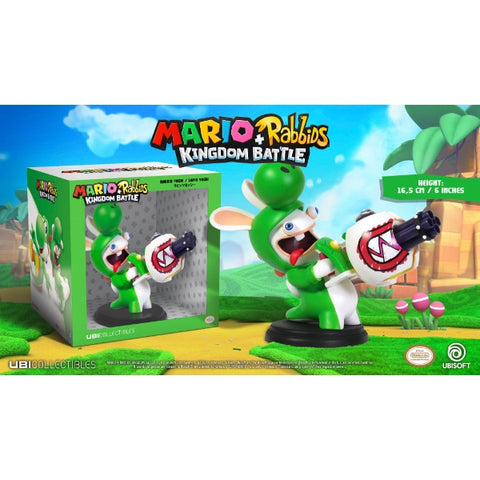 "Mario + Rabbids Kingdom Battle: Rabbid Yoshi 6"" Figurine [Toys, Ages 3+]"