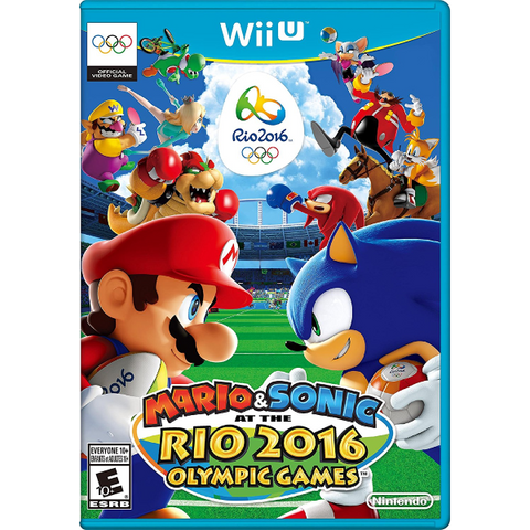 Mario & Sonic at the Rio 2016 Olympic Games [Nintendo Wii U]