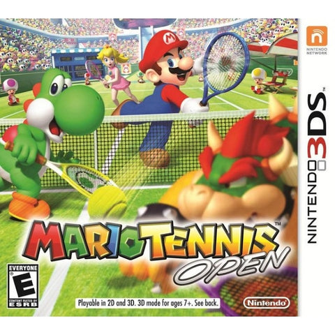 Mario Tennis Open [Nintendo 3DS]