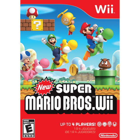 New Super Mario Bros. Wii [Nintendo Wii]