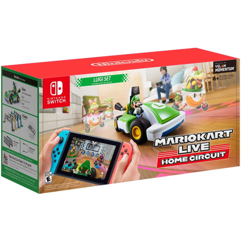 Mario Kart Live: Home Circuit - Luigi Set [Nintendo Switch Accessory]