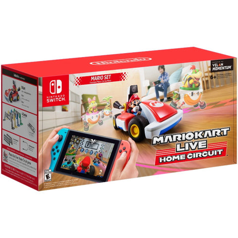 Mario Kart Live: Home Circuit - Mario Set [Nintendo Switch Accessory]
