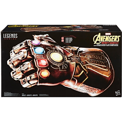 Marvel Avengers: Legends Series - Electronic Infinity Gauntlet [Toys, Ages 16+]