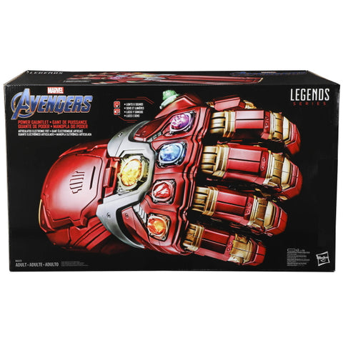 Marvel Avengers: Legends Series - Electronic Power Gauntlet [Toys, Ages 16+]