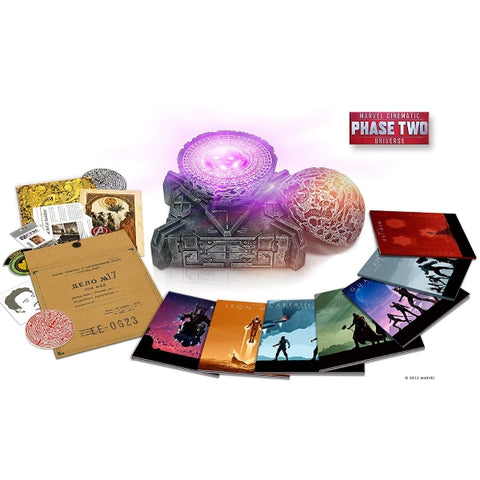 Marvel Studios Cinematic Universe - Phase 2 - Amazon Exclusive Limited Edition [3D Blu-Ray Box Set]