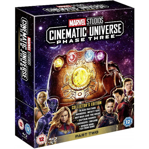 Marvel Studios Cinematic Universe - Phase 3 - Part Two - Collector's Edition [Blu-Ray Box Set]