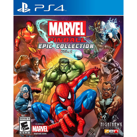 Marvel Pinball - Epic Collection: Volume 1 [PlayStation 4]