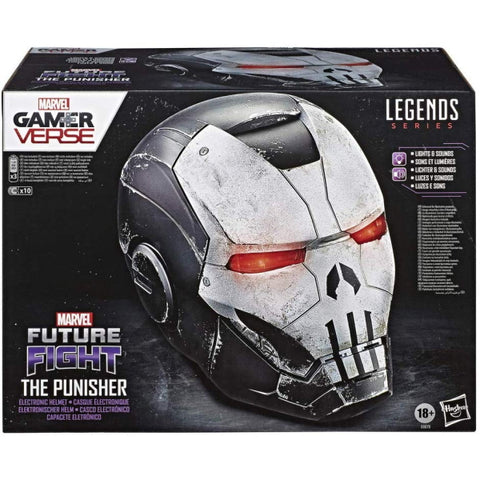 Marvel Future Fight Gamerverse: Legends Series - Electronic The Punisher War Machine Helmet [Toys, Ages 18+]