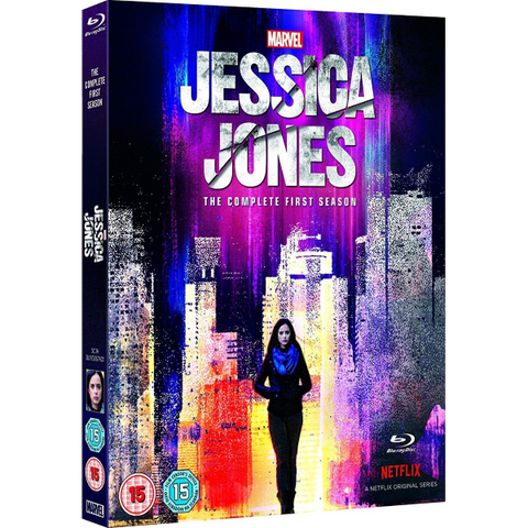 Marvel's Jessica Jones: The Complete First Season [Blu-Ray Box Set]