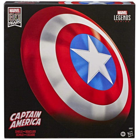 Marvel: Legends Series - 80th Anniversary Captain America Shield [Toys, Ages 18+]
