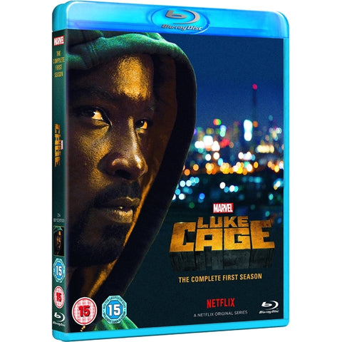 Marvel's Luke Cage: The Complete First Season [Blu-Ray Box Set]