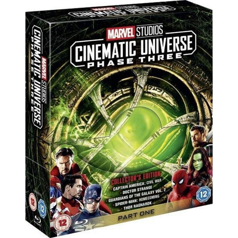 Marvel Studios Cinematic Universe - Phase 3 - Part One - Collector's Edition [Blu-Ray Box Set]