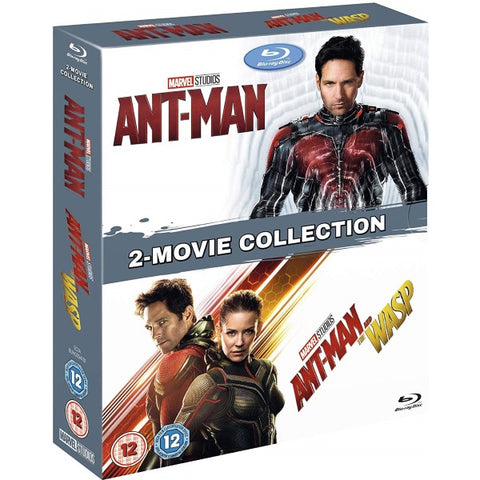 Marvel's Ant-Man and Ant-Man & The Wasp [Blu-Ray 2-Movie Collection]