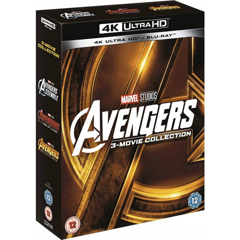 Marvel's Avengers - 3-Movie Collection [Blu-Ray + 4K UHD]
