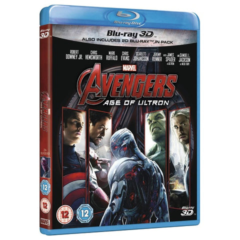 Marvel's Avengers: Age of Ultron [3D + 2D Blu-Ray]