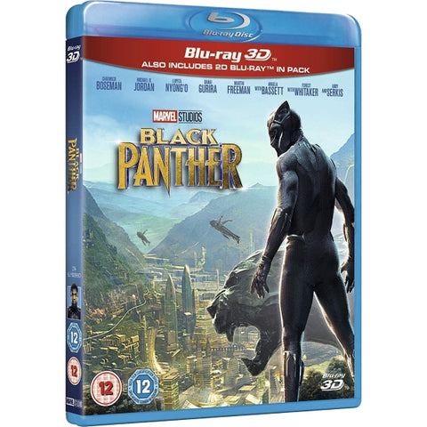 Marvel's Black Panther [3D + 2D Blu-Ray]