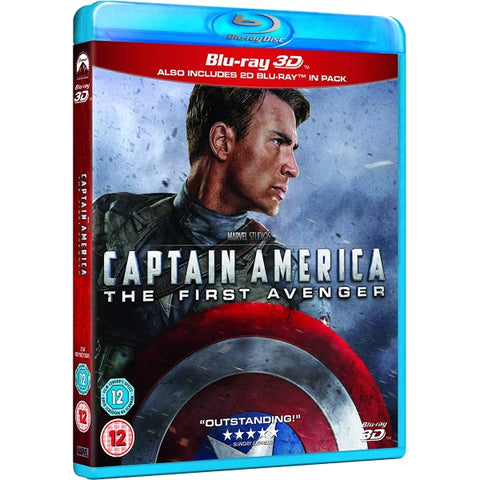 Marvel's Captain America: The First Avenger [3D + 2D Blu-Ray]